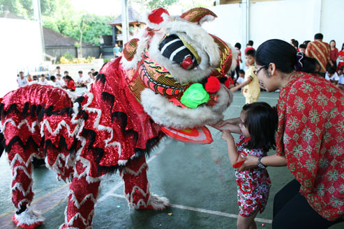 CHINESE NEW YEAR CELEBRATED DURING MORNING ASSEMBLY